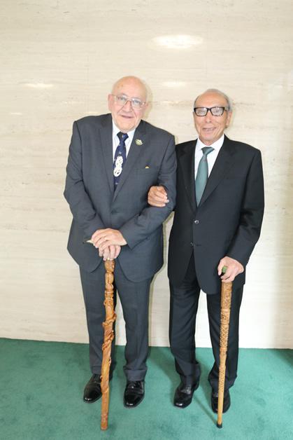 Tā Tipene O'Regan and Mr Masashi Yamada.