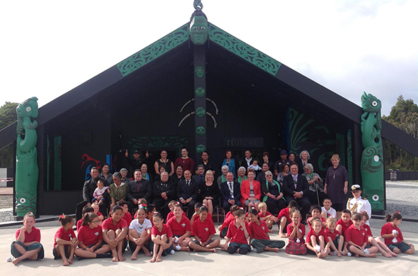 Tawini Governor-General and his party are welcome to Te Tai o Poutini at Arahura Marae.