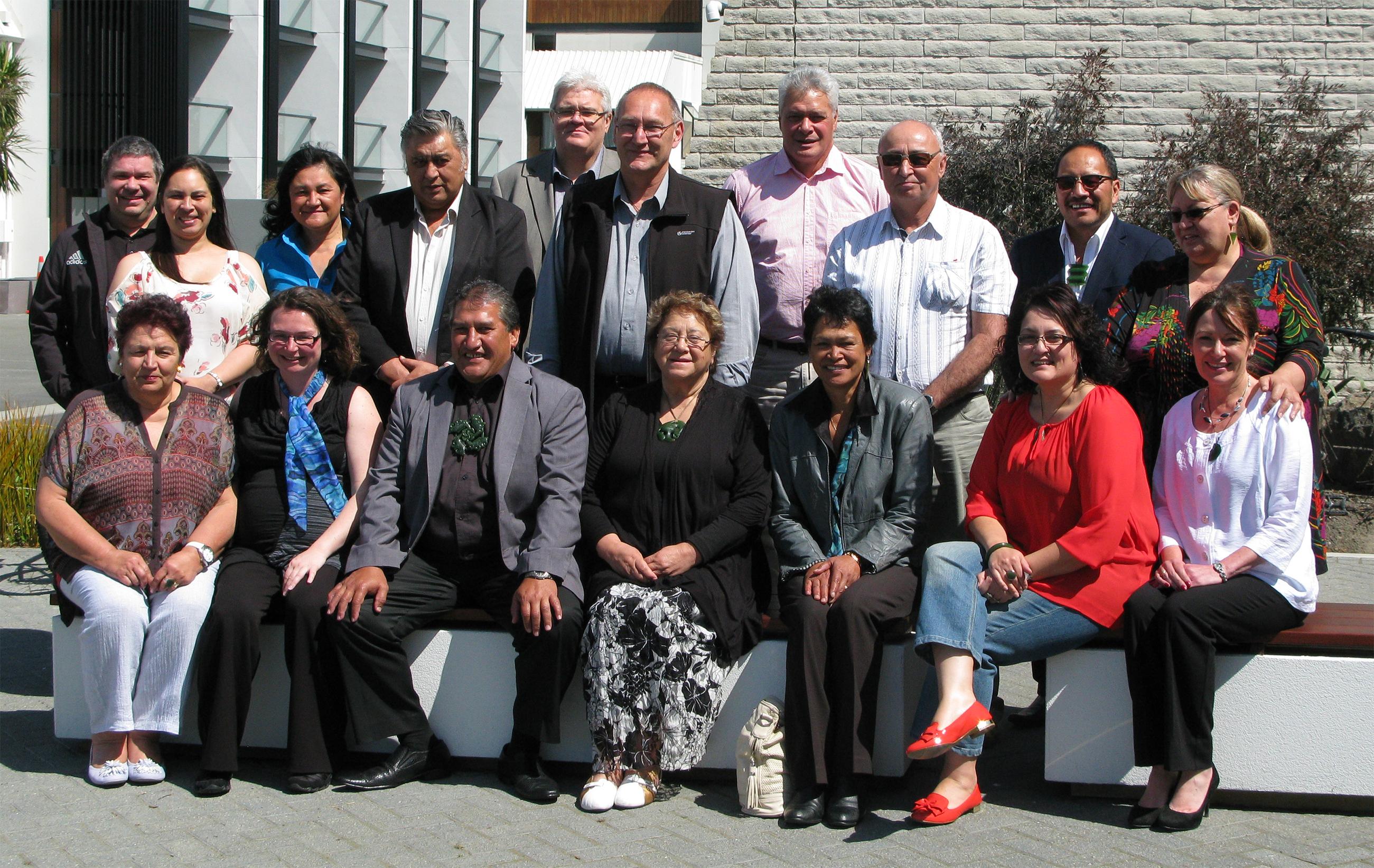 Te Apārangi (Te Rūnanga o Ngāi Tahu committee) met with Ngāti Kahungunu in October last year to discuss the Ruataniwha Dam proposal. Tā Mark Solomon subsequently attended some of the hearings on the dam.