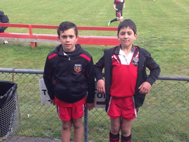 Te Kaio Cranwell and Arirangi Stevens.