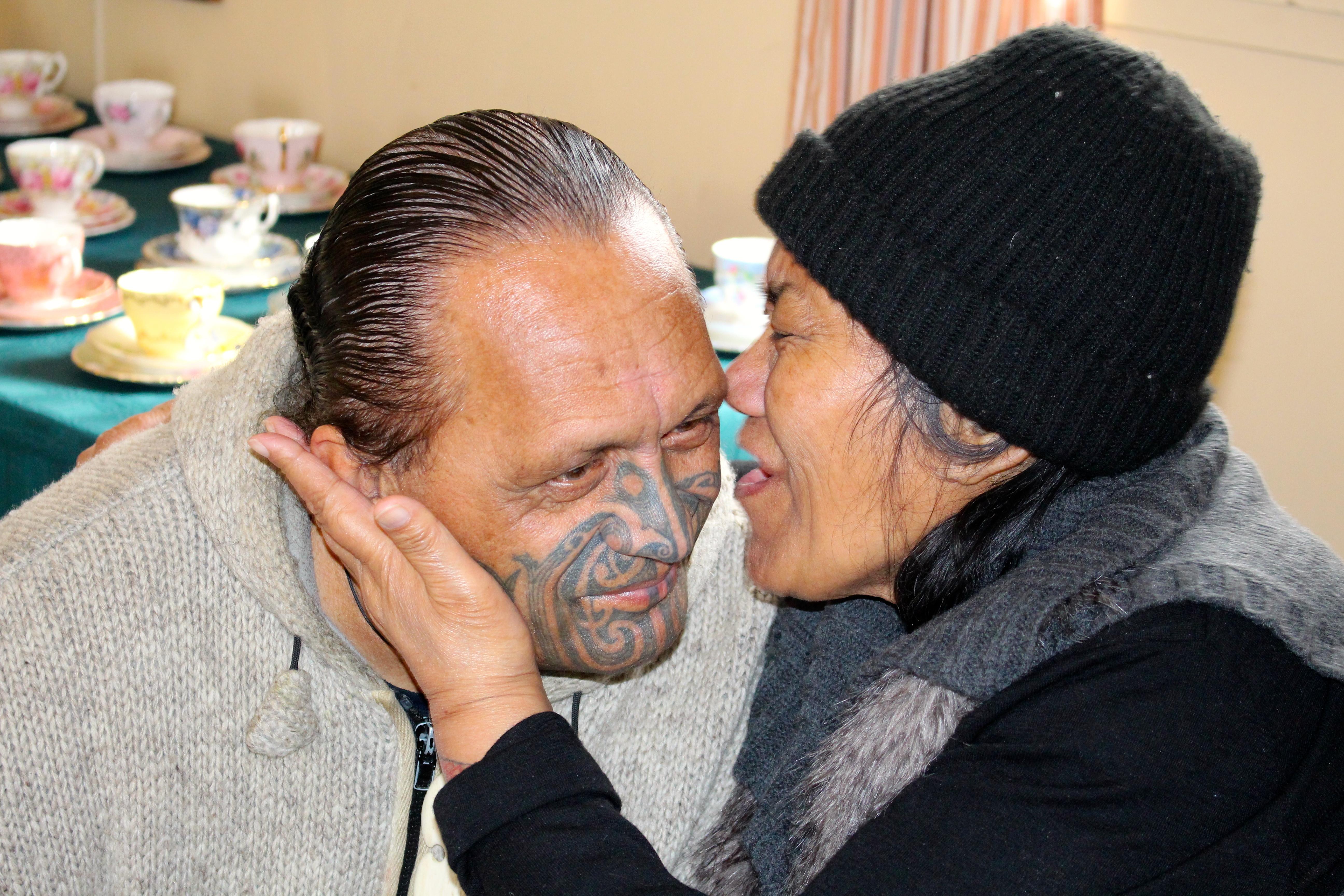 Te Mairiki Williams and Roberta Arahanga.
