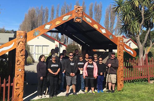 Te Rūnanga staff ready for mahi.