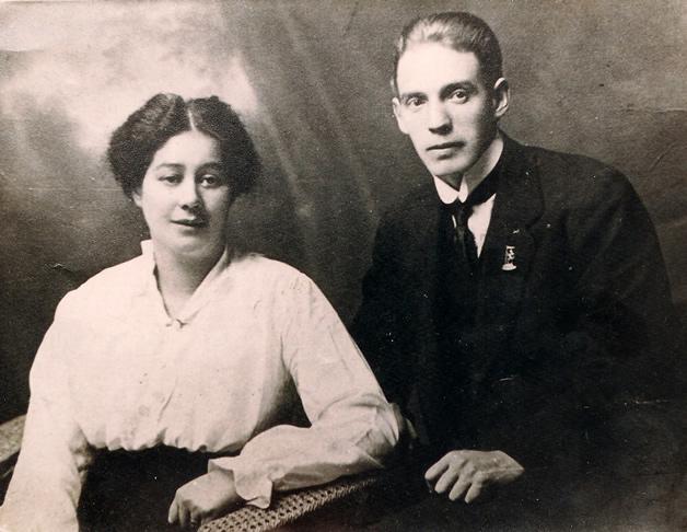 Terry's parents Ronald Stuart-Sutherland and wife, Ruahine Eliza nee Fowler.