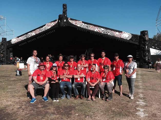 The Tahu FM crew for Te Matatini 2015.