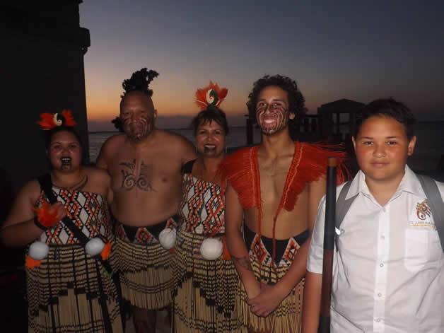 The Takurua whānau.