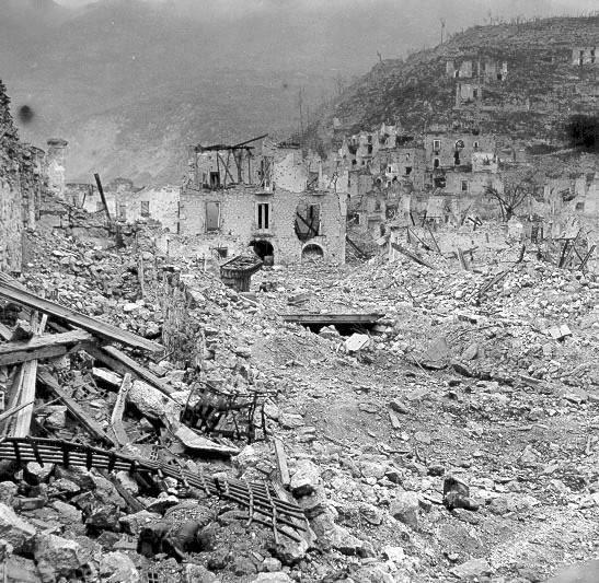 The WW II Battlefields in Cassino.