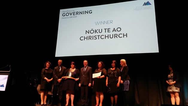 The awards ceremony.