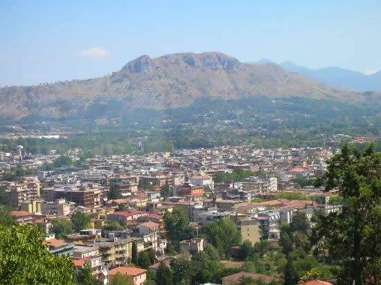The city of Cassino today.
