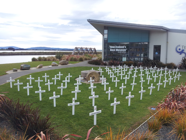 The field of crosses.