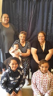 The four generations from Ngāi Tahu Southern Genes.