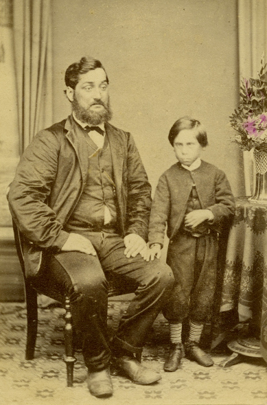 This photograph was taken in Dunedin in the late 1860's -The man is thought to be Hone Mira/John Miller.