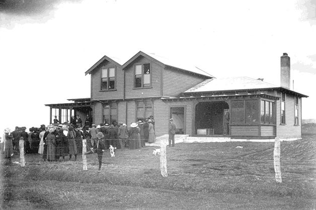 The original hospital facility.
