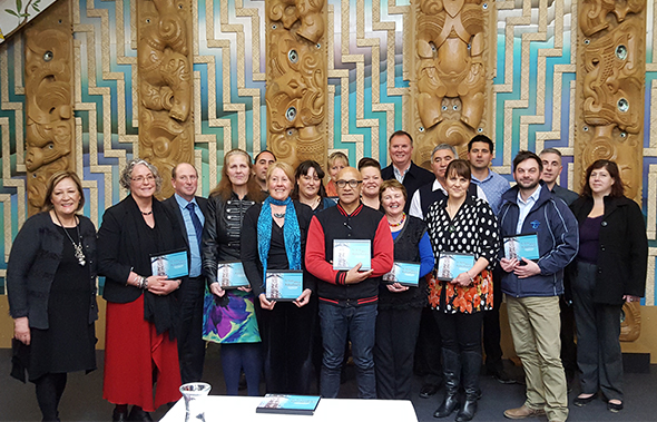 The school principals and representatives within the takiwā of Whakaraupō.