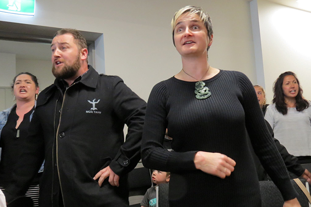 Tiana Mihaere, Justin Tipa and Hana O'Regan