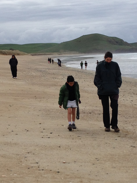 Walking the sands and beachcombing were popular activities.