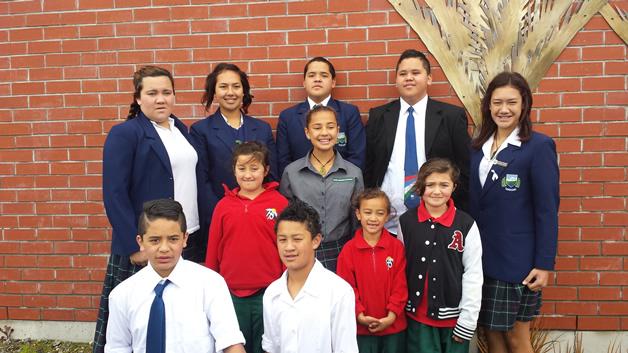Westland High and Hokitika Primary kura tautoko Westport North kura.