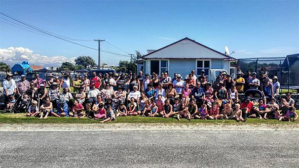 Whānau photo.