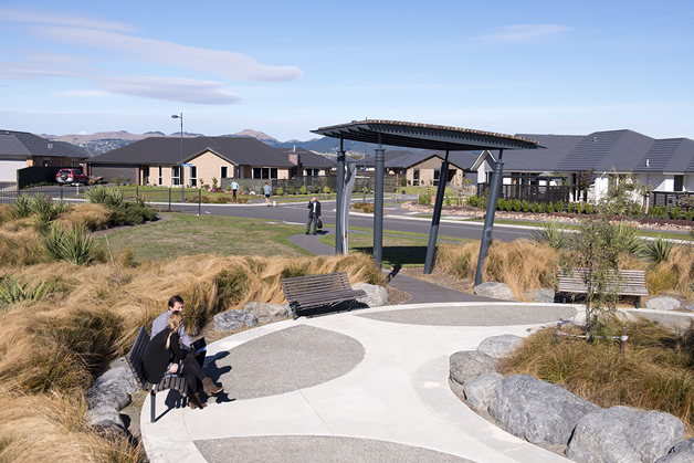 Wigram Skies - a growing residential area.