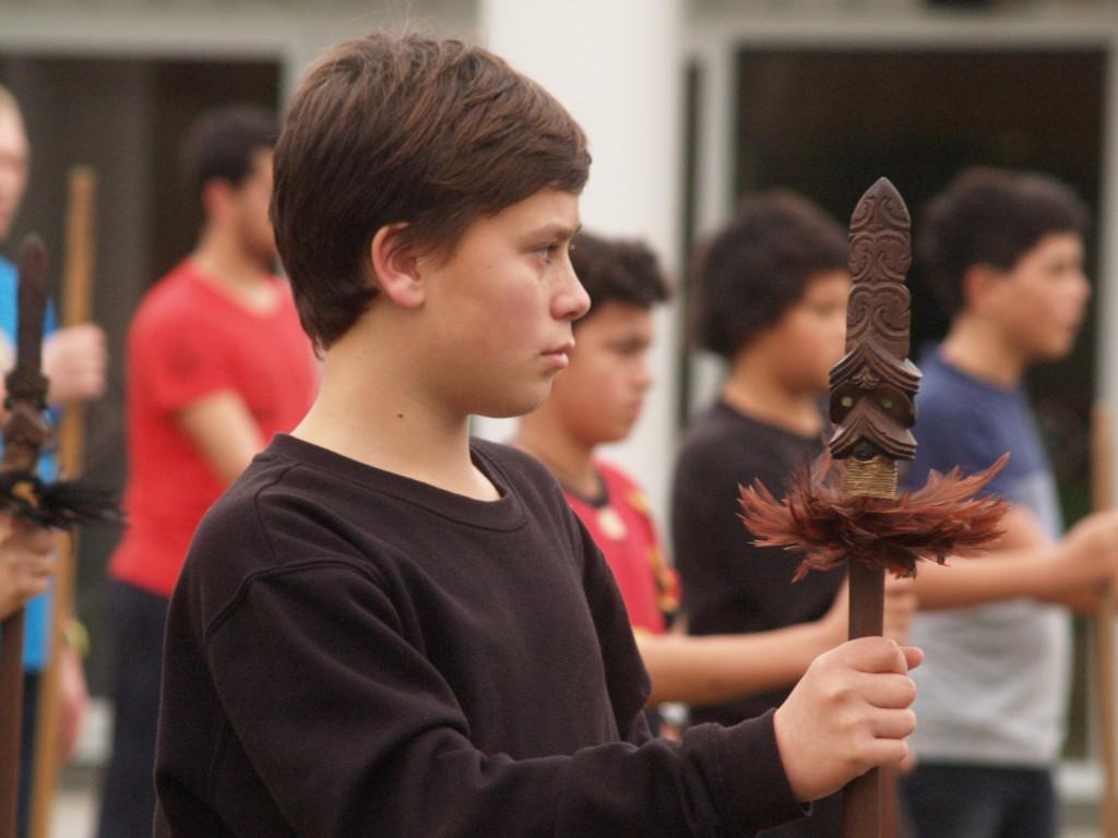 Youth thrive at the taiaha wānanga.