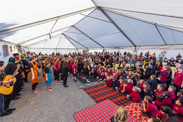Befitting for Matariki, the students who performed were all stars. Photo courtesy of Andrew Spencer.