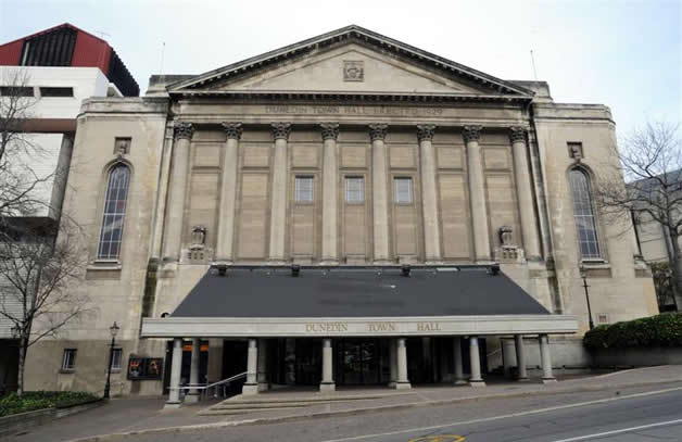 Dunedin Town Hall.
