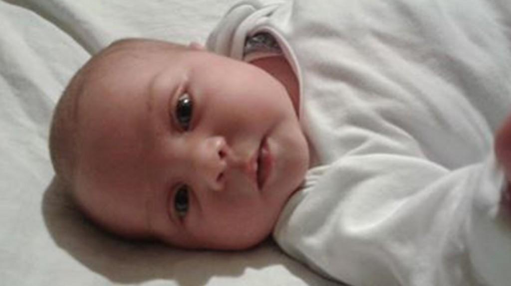 Maddie at four weeks.